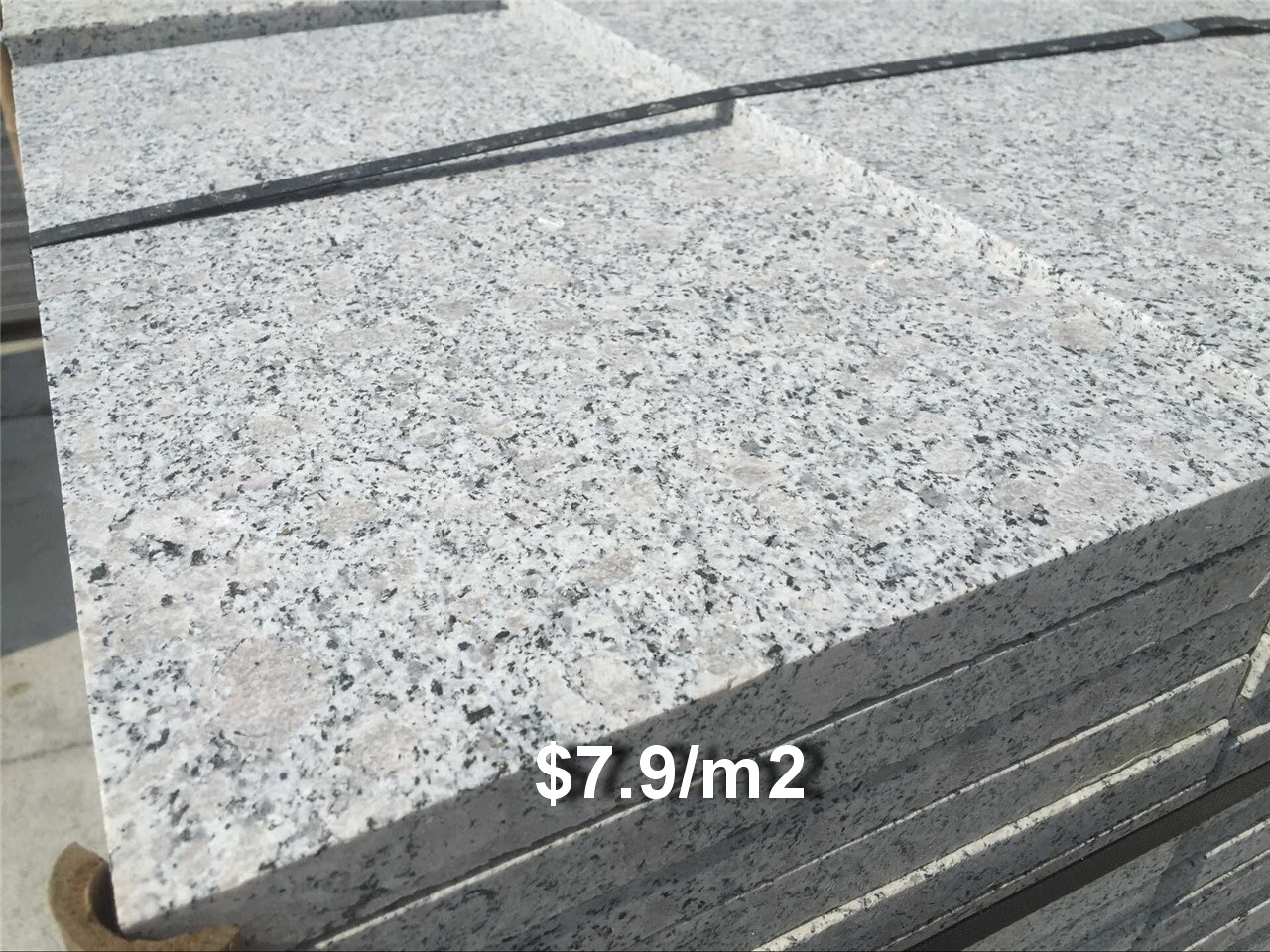 Bala white granite bushhammered 79m2 stonemarkt company limited bala white granite slabs tiles china cheapest granite slabs tiles dailygadgetfo Images